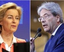 Von der Leyen presenta la squadra: Gentiloni commissario all'Economia