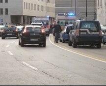 Sparatoria davanti alla questura di Trieste, colpiti tre agenti