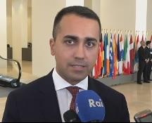 """Siria, Di Maio: """"Condanna unanime dell'Ue ad Ankara e stop alle armi"""""""