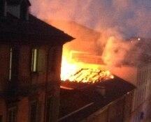 Torino. Domato incendio alla Cavallerizza di Torino, crollata parte del tetto