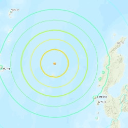 Terremoto in Indonesia (Foto da Usgs web)