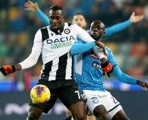 Finisce 1-1 Udinese-Napoli, anticipo della quindicesima giornata di Serie