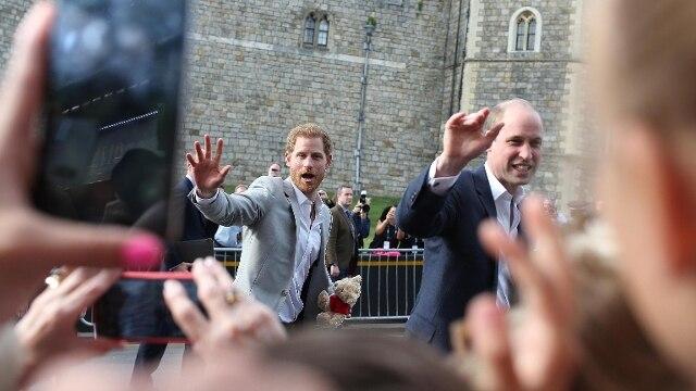 William e Henry, l'addio dei fratelli Windsor: