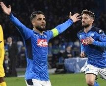 Mertens illude il Napoli, il Barcellona pareggia con Griezmann: è 1-1