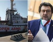 Open arms, Salvini verso il processo. Il Senato decide oggi