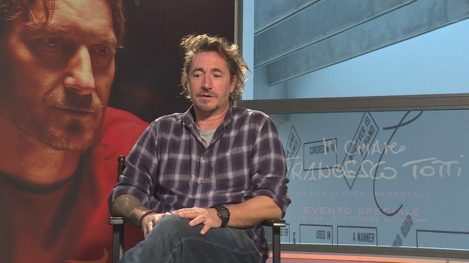 Festa del Cinema 15. Alex Infascelli racconta il suo film su Francesco Totti  - Video - Rai News