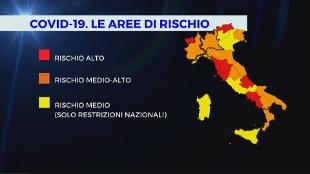 Da oggi Lombardia, Piemonte e Calabria arancioni. Passano al giallo Liguria  e Sicilia - Rai News