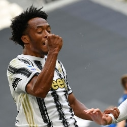 juventus vs inter gol di Cuadrado (gettyimages)