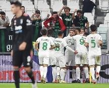 Calcio, la Juve perde in casa contro il Sassuolo al 95'...
