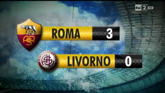 Roma - Livorno 3-0 - Video - Rai News